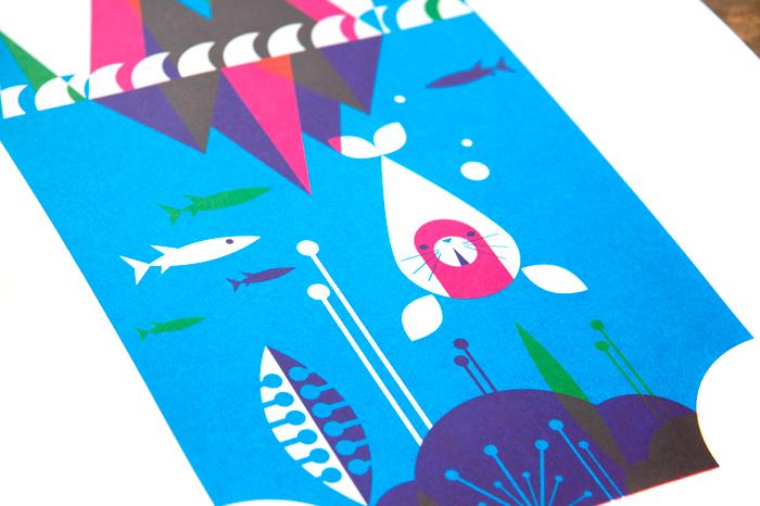 NoBrow Arctic Animal Prints