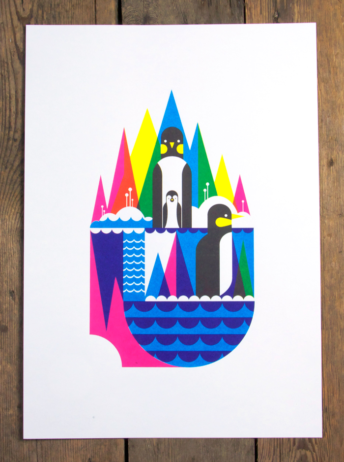 NoBrow Arctic Animal Prints